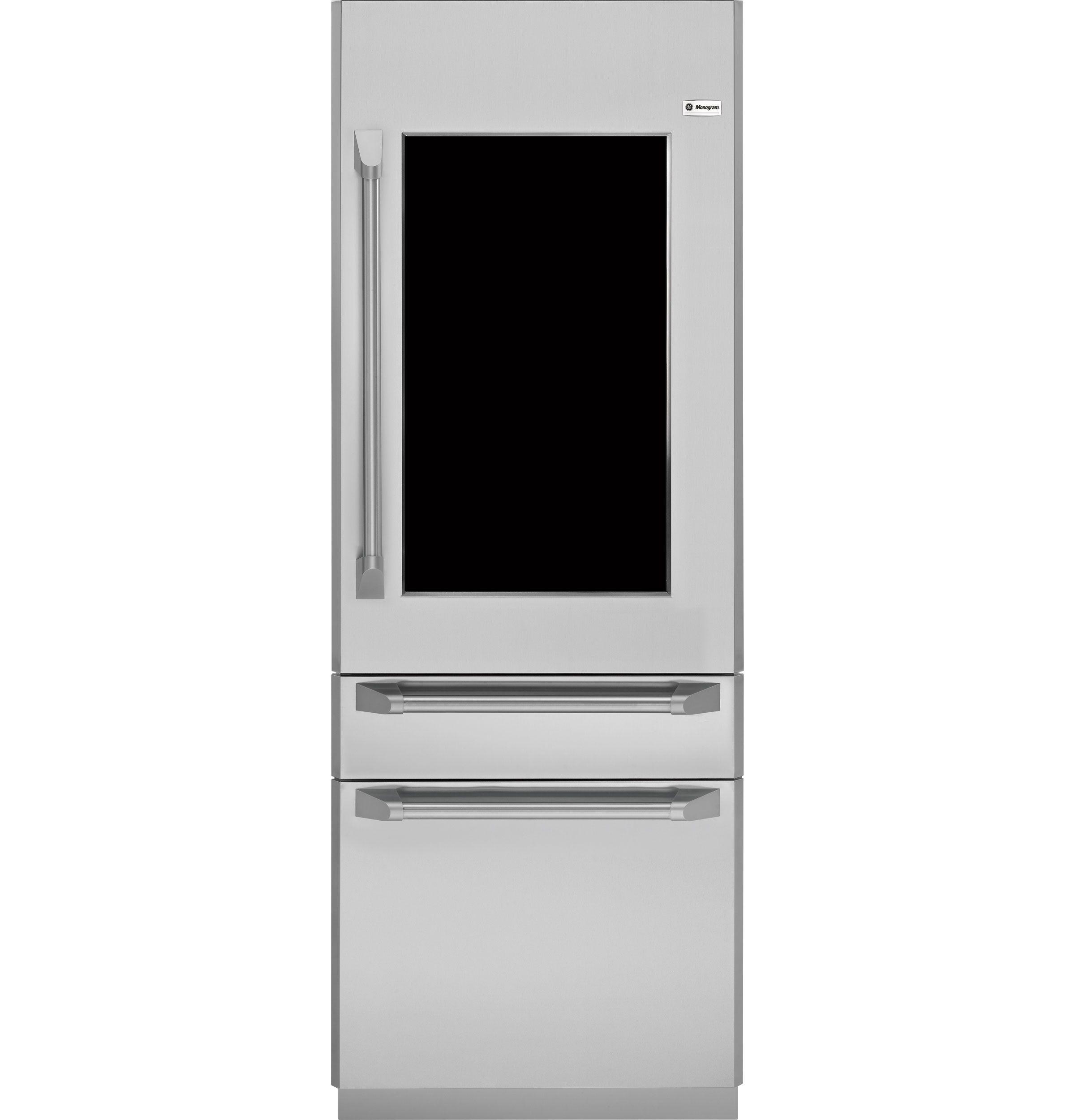 Zkgp304nrh Ge Monogram Glass Door Refrigerator Monogram