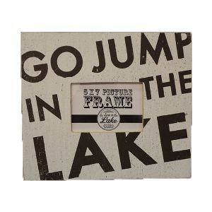 50+ Great Go Jump In The Lake Picture Frame