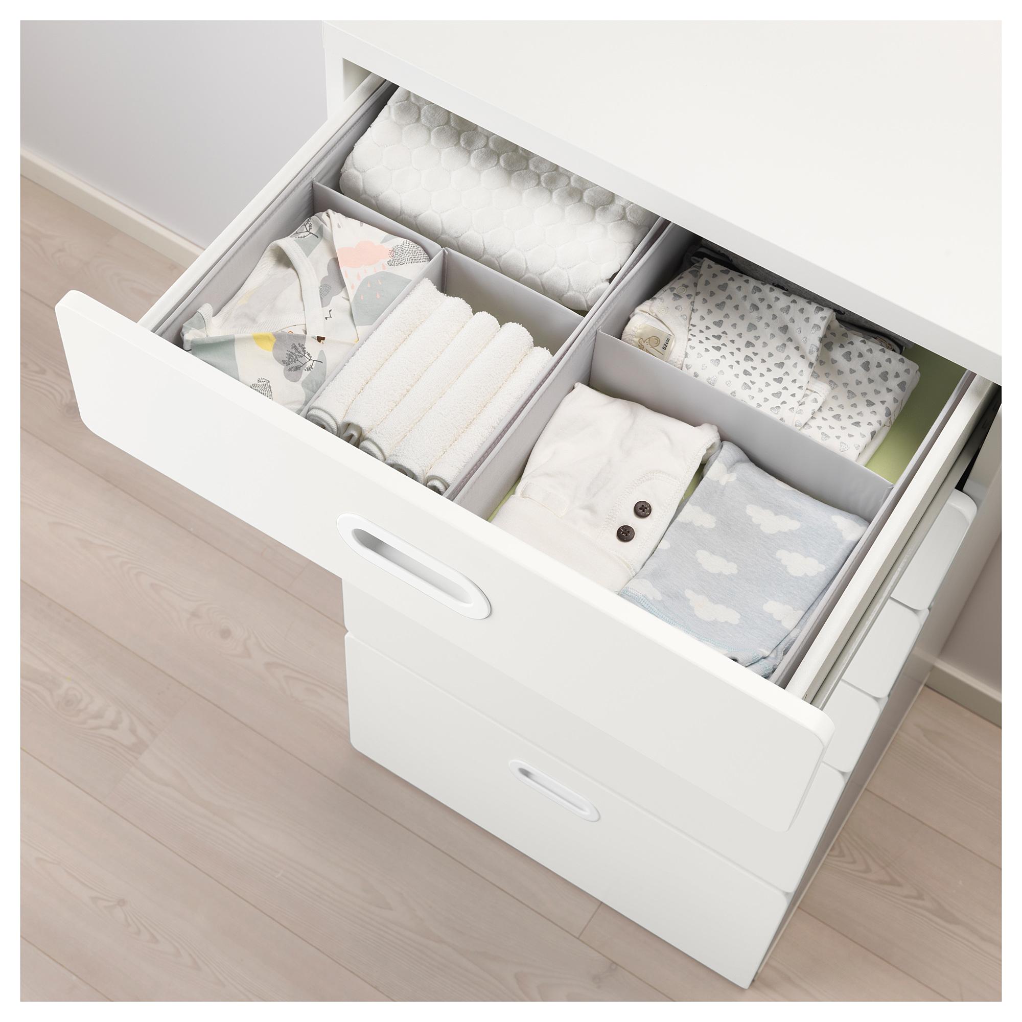 b689c371eec0 IKEA - STUVA / FRITIDS 6-drawer chest white, white in 2019 | Closet ...