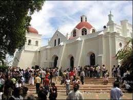 El santo cerro lugar donde se encuentra la iglesia católica Las Mercedes, uno de los centros turísticos relevantes por su historia. Katy
