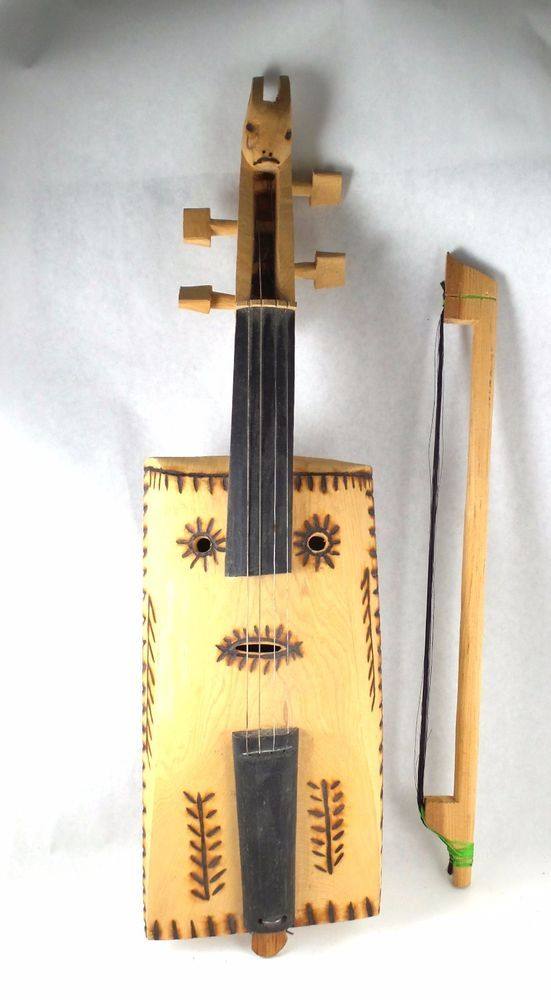 Decorative Morin Khuur Souvenir Mongolian Not Actual Instrument Wall ...