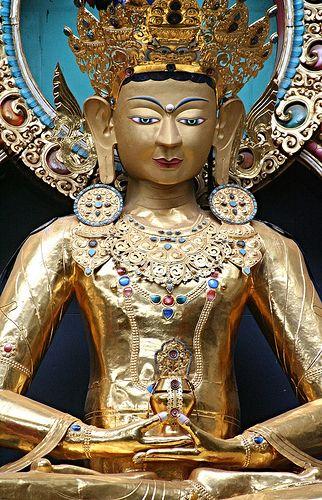 Gold Buddha, India