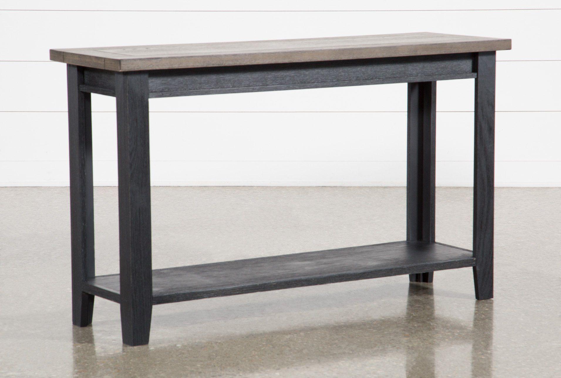 Dixon Black Sofa Table 295 Black Sofa Table Wood Sofa Table