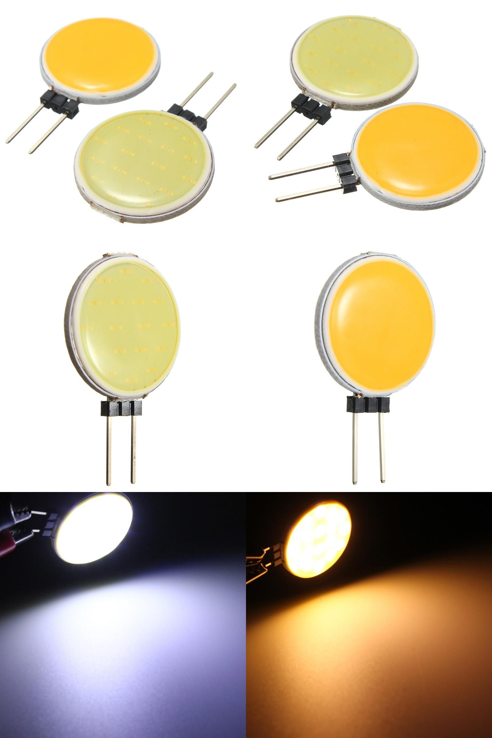Visit To Buy Top Quality G4 Cob 4w 5w 7w 12w Pure Warm White Led 15 18 30 63 Chips Replace Halogen Lamp Spot Light Bulb Advertisement Kreatif