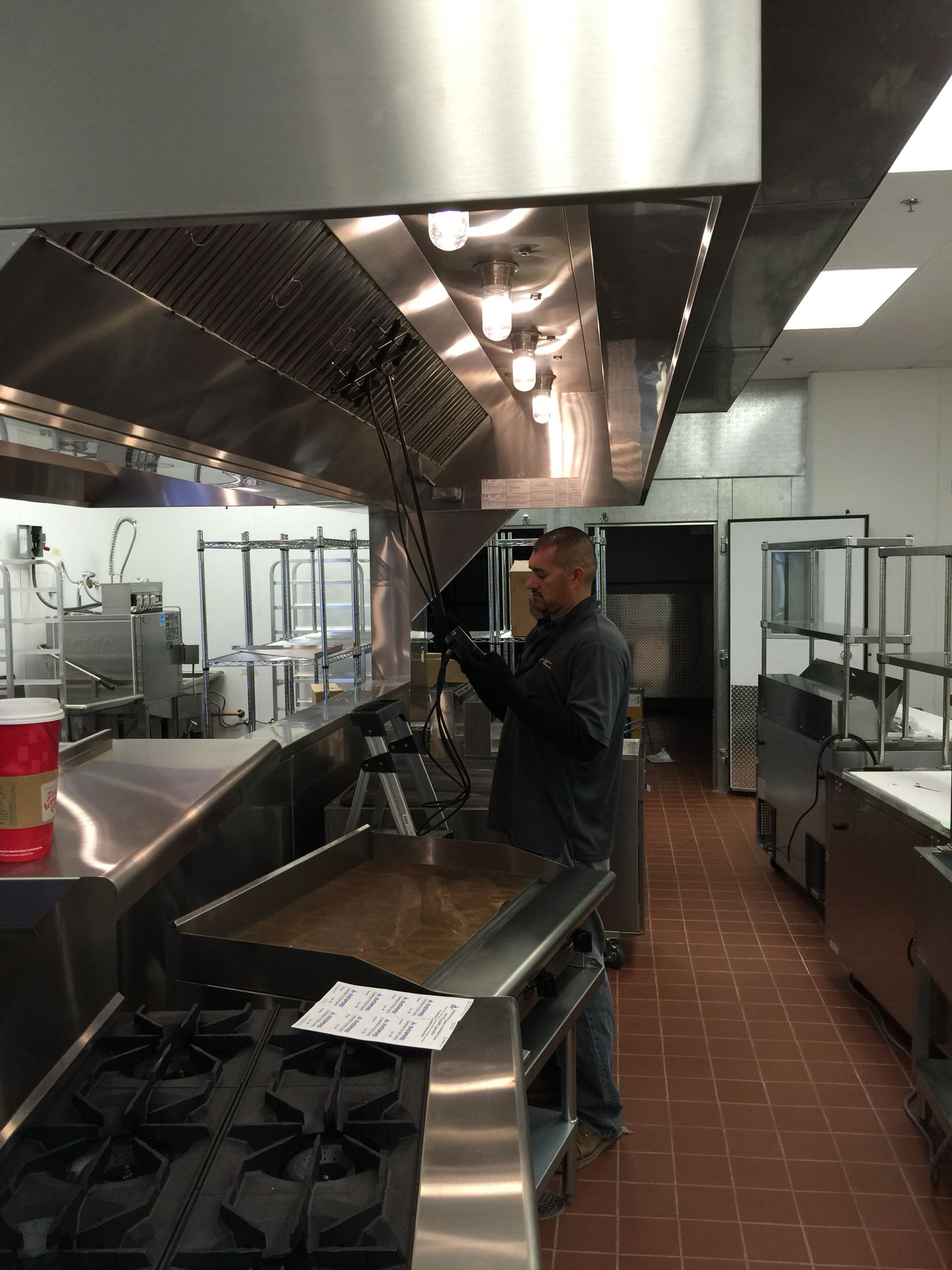 Testing & Balancing a Kitchen Exhaust Hood in order to