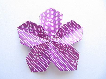 Origami modular 5 petal flower folding instructions flowers website full of origami creations origami modular flower folding instructions mightylinksfo