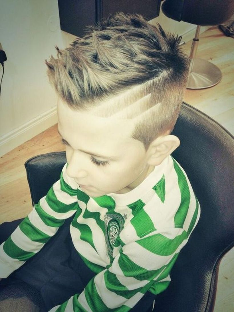 awesome cool kids and boys mohawk haircut ideas kids boys