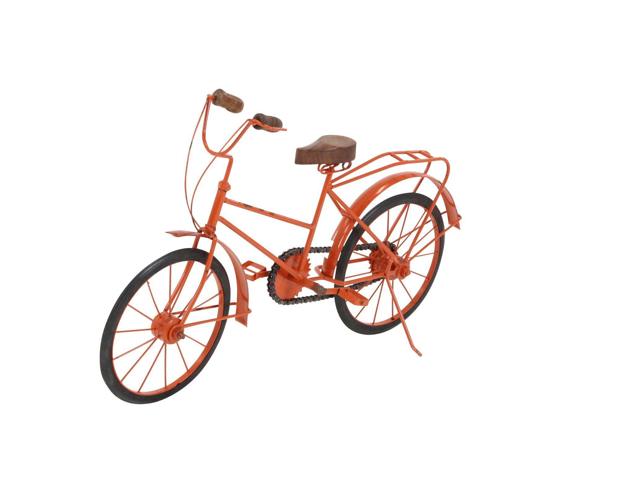Metal/Wood Bicycle Sculpture