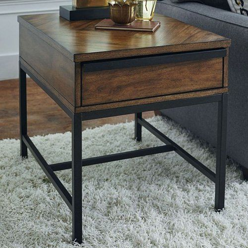 Hammary Sympli Rectangular End Table From Hayneedle Com End