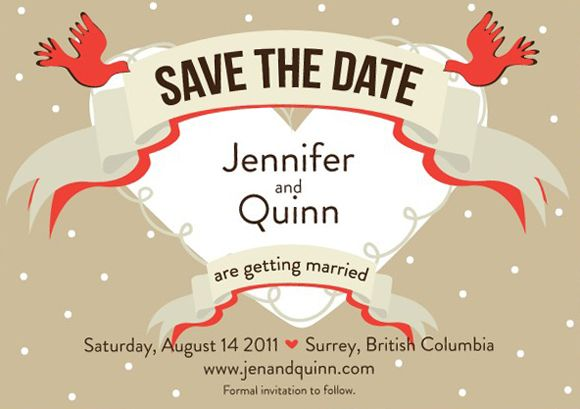 CreativeSaveTheDateWeddingInvitationDesign  Wedding