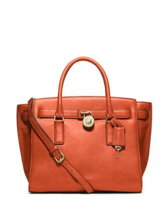 ffc92169c952 Michael Michael Kors Hamilton Large Smooth Leather Traveler Satchel ...