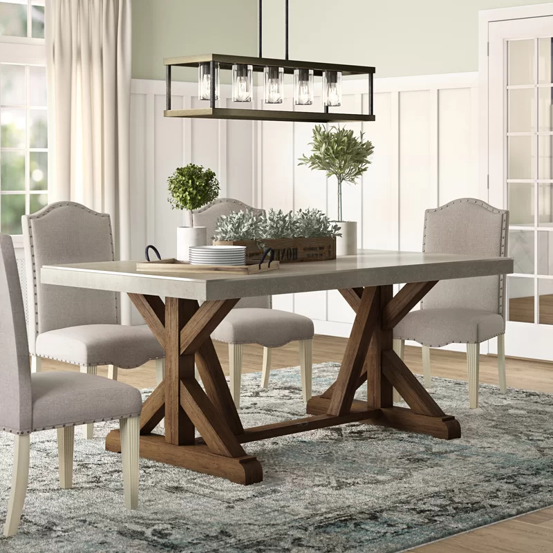 Charlton Home Beekman Dining Table In 2020 Farmhouse Dining Room