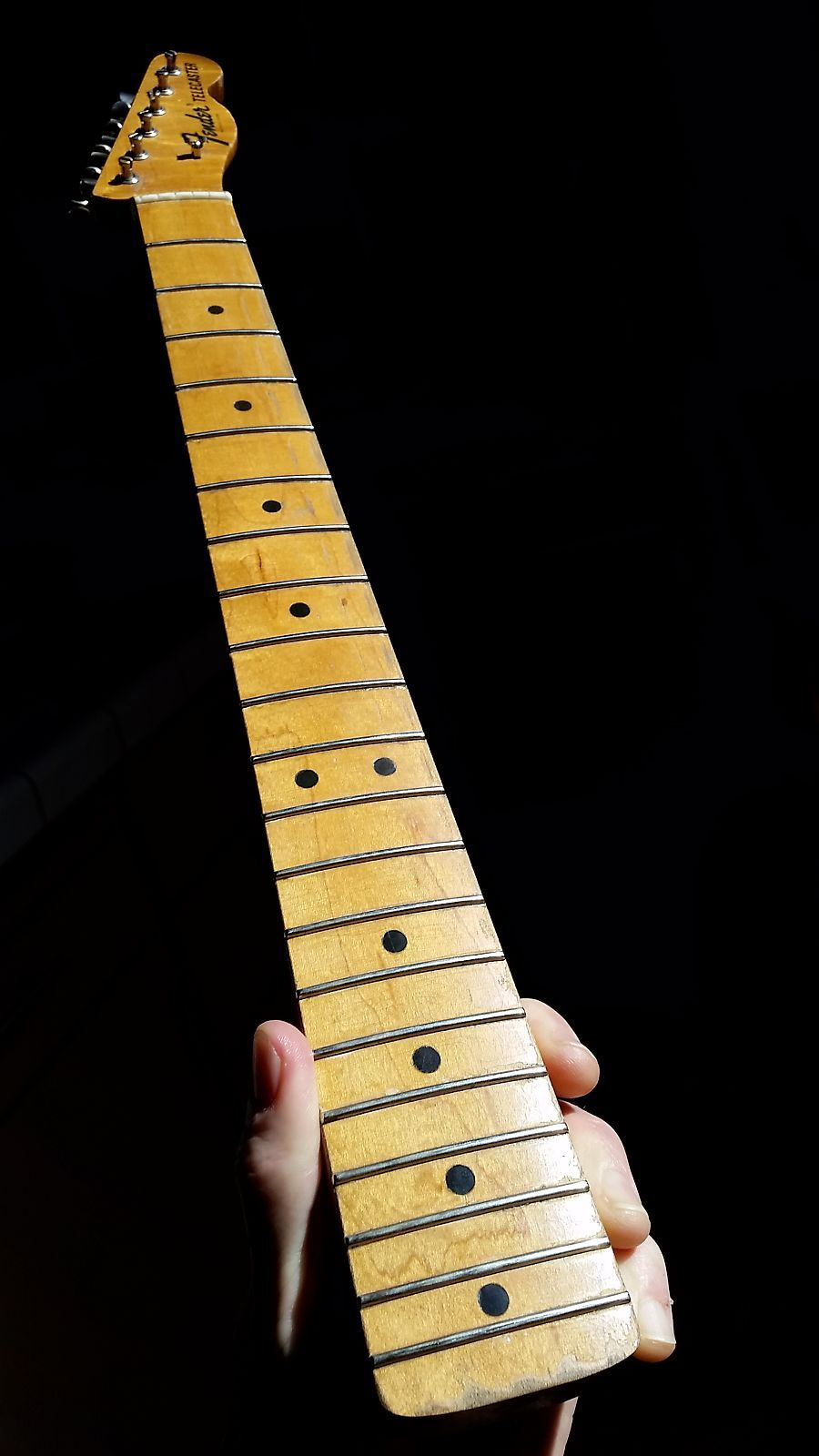 Vintage 1968 Fender Telecaster Neck Maple Cap Jimi Hendrix Fits Stratocaster Marshall Gear Garage Reverb Fender Telecaster Telecaster Neck Jimi Hendrix