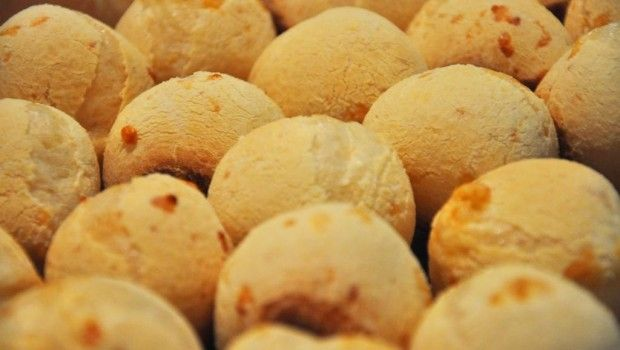 Receta de Pan de Queso - Pão de Queijo