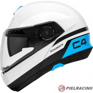 CASCO C4 BLANCO BRILLO