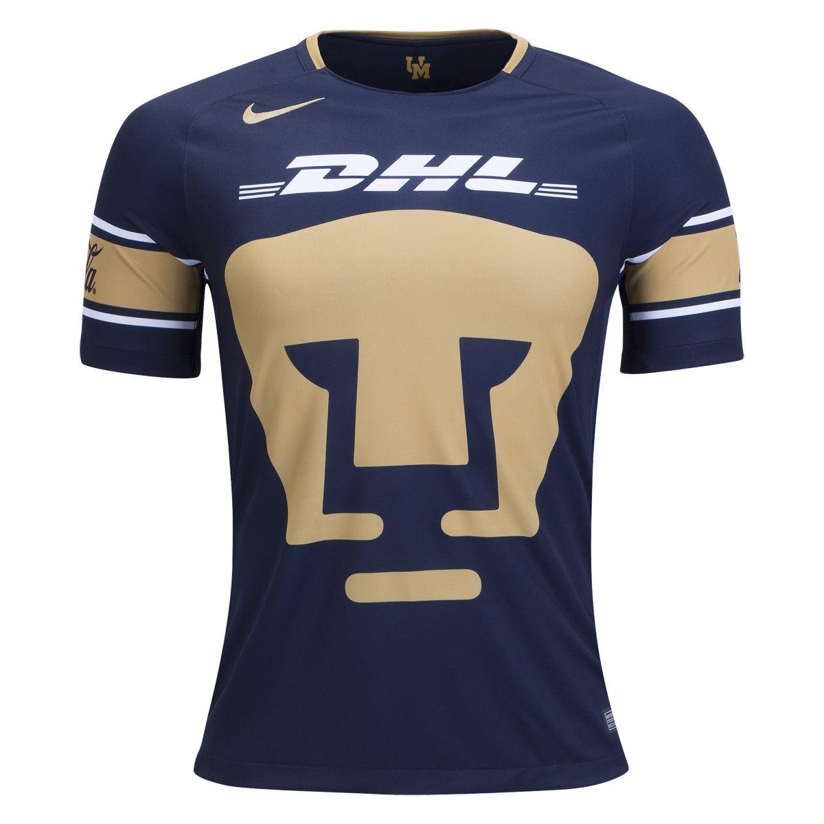 049d3aeafd Nike Pumas UNAM Home Jersey 17 18