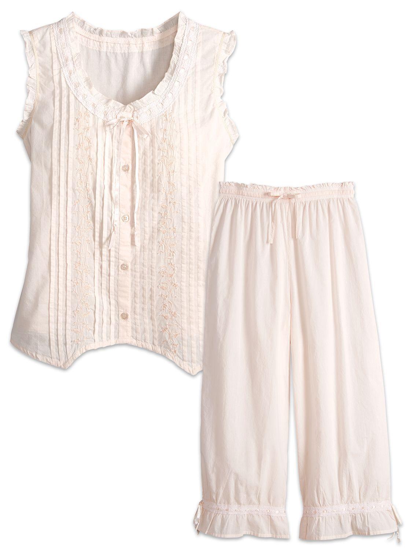 Victorian Bloomer Pajamas  53f9bd1a7