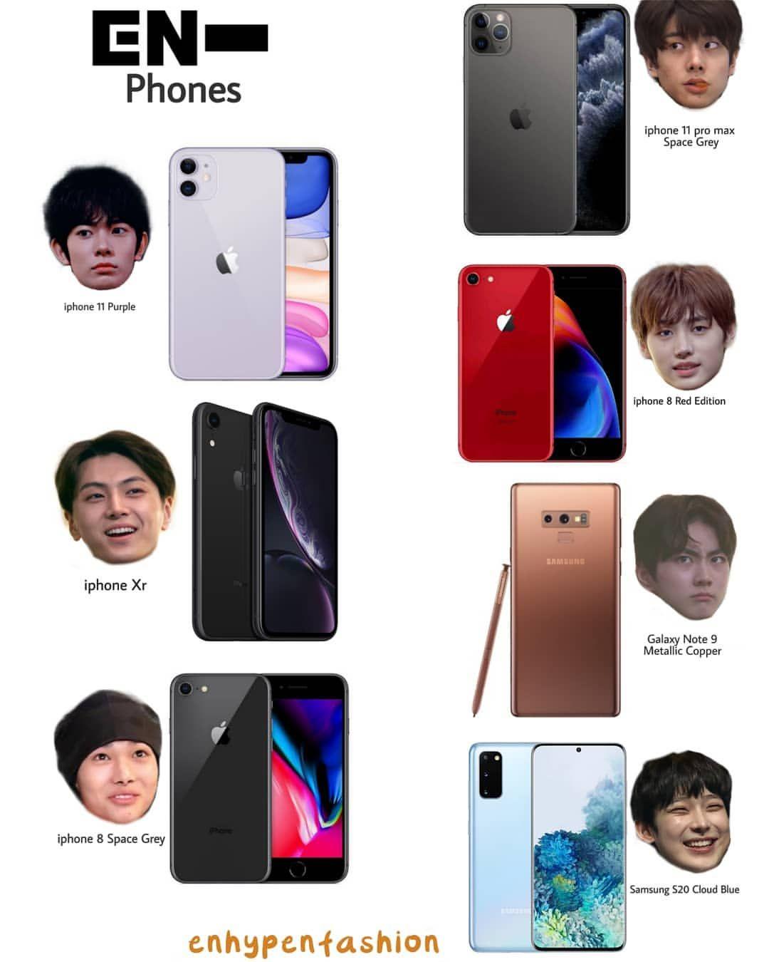 Enhypen Members Phones Enhypenfashion Members Don T Remove Credit Follo Cute Cartoon Images Cute Cartoon Iphone