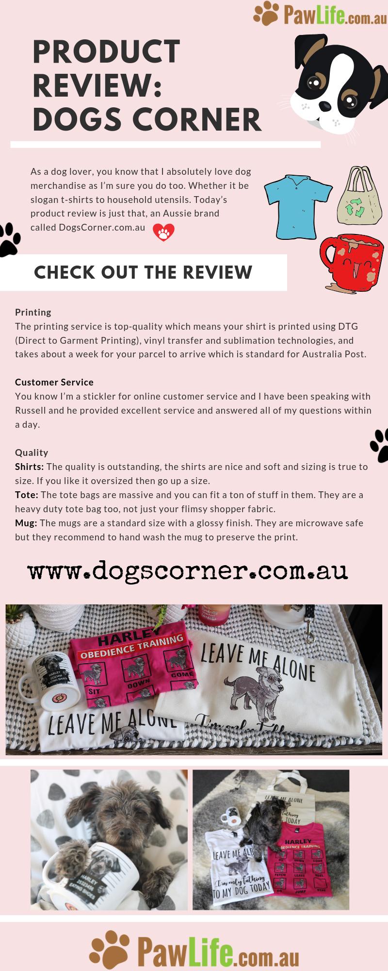 Product Review Dogs Corner Dog corner, Big dog little
