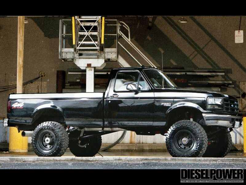 1997 7 3 Powerstroke Beautiful Ford Trucks Ford Diesel Diesel Trucks