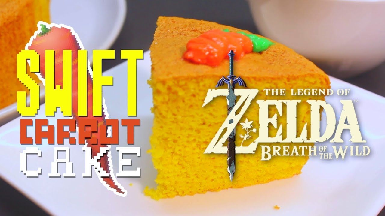 How to make swift carrot cake from zelda breath of the wild sweet food forumfinder Image collections