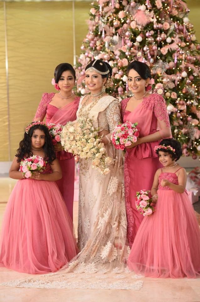 95ddacfb0a Bridesmaid colours Indian Bridesmaid Dresses, Bridesmaid Saree, Bridal  Wedding Dresses, Saree Wedding,