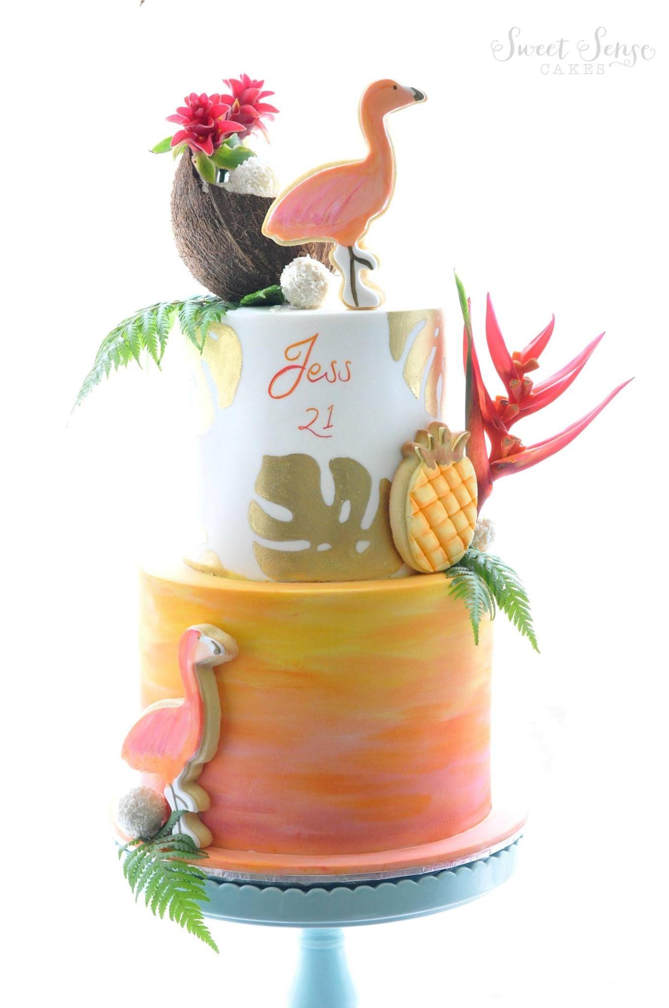 Sweet Sense Cakes Cakes Tropical Amp Hawaii Cake