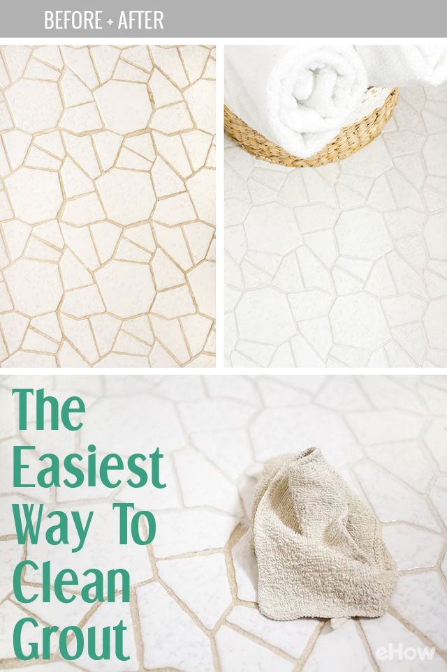Easiest Way To Clean Grout Diy Cleaning Products Grout