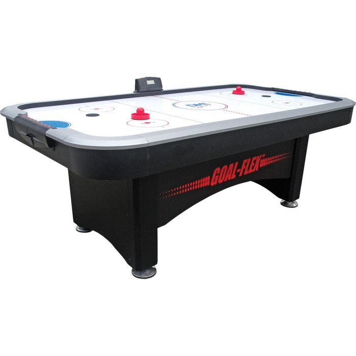 Escalade Sports Power Play 7 39 Air Hockey Table Amp Reviews Wayfair Air Hockey Table Air Hockey American Legend
