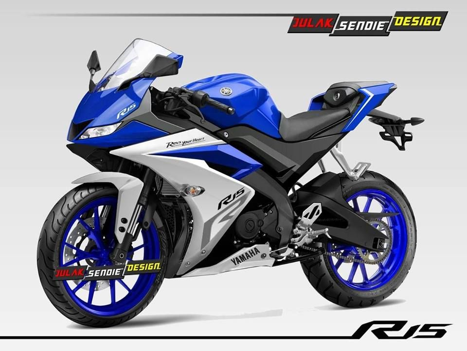 Yamaha R15 v3 rendered with LED headlamps | riders | Yamaha