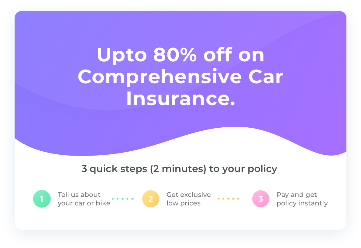 Comprehensive Car Insurance Acko Insurance Car Insurance