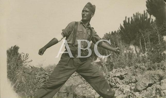 Abc. La Guerra Civil Española. Foto de soldado republicano, del archivo de Abc