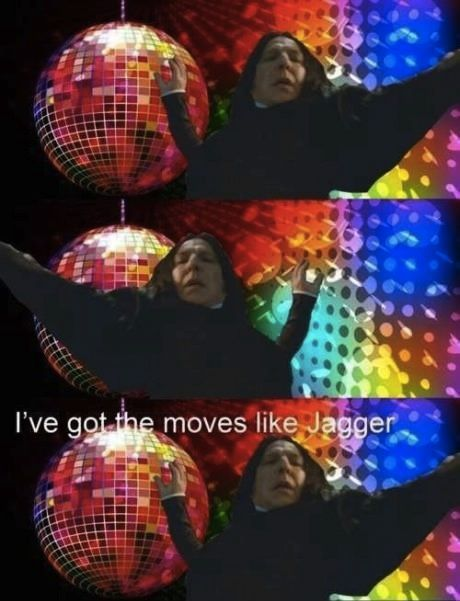 Snape has moves.