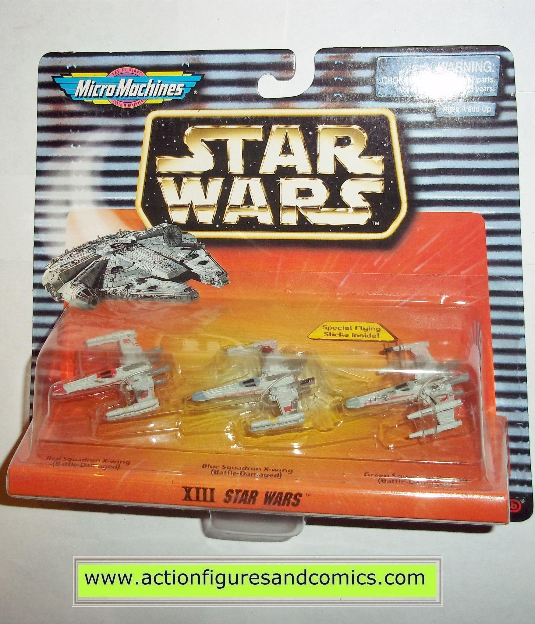 battle Damage Micro Machines Star Wars Ship Tie Fighter