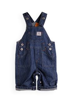 denim dungaree  3 to 6 months