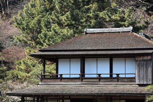 JAPANESE TRADITIONAL HOUSE EXTERIOR