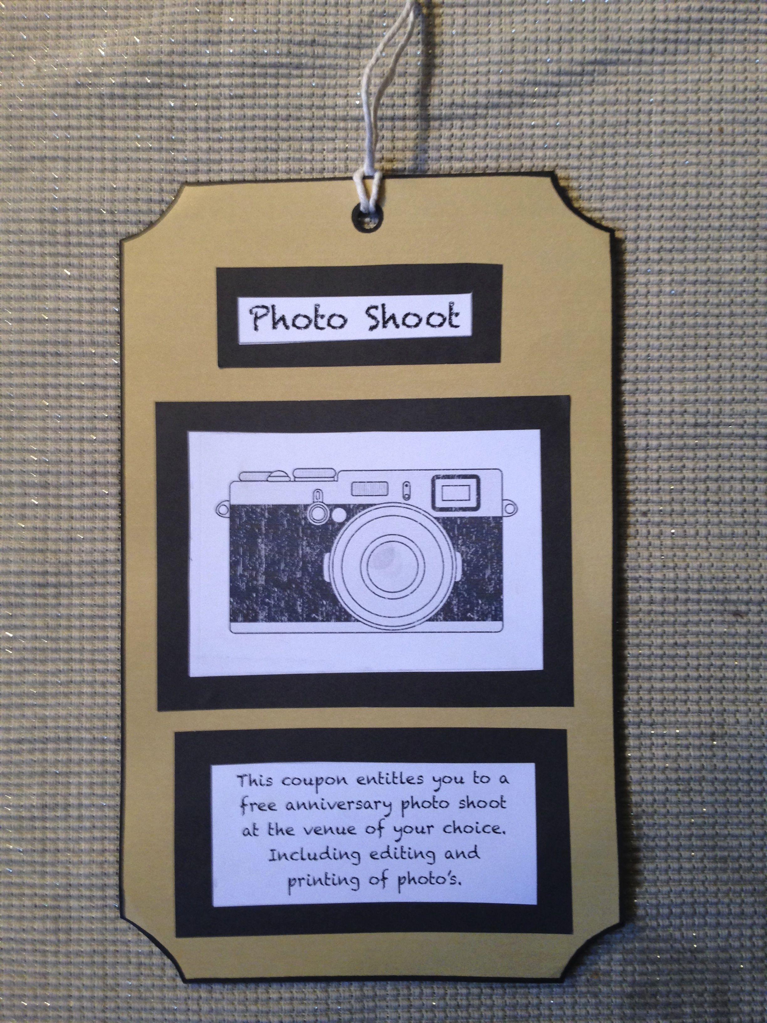 Fantastic coupon idea for the photographers..
