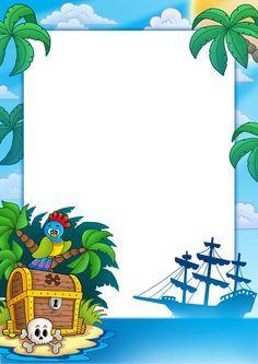 Indovinelli caccia al tesoro compleanno piraten party - Pirata colorazione pirata stampabili ...