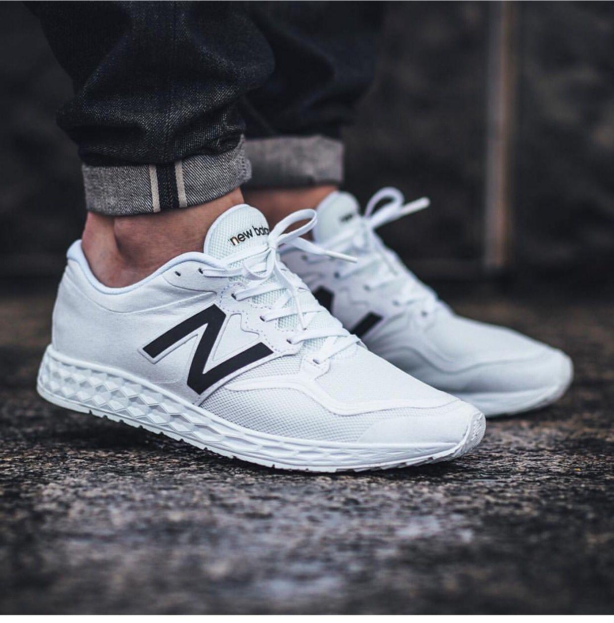 new balance blanca hombres zapatillas