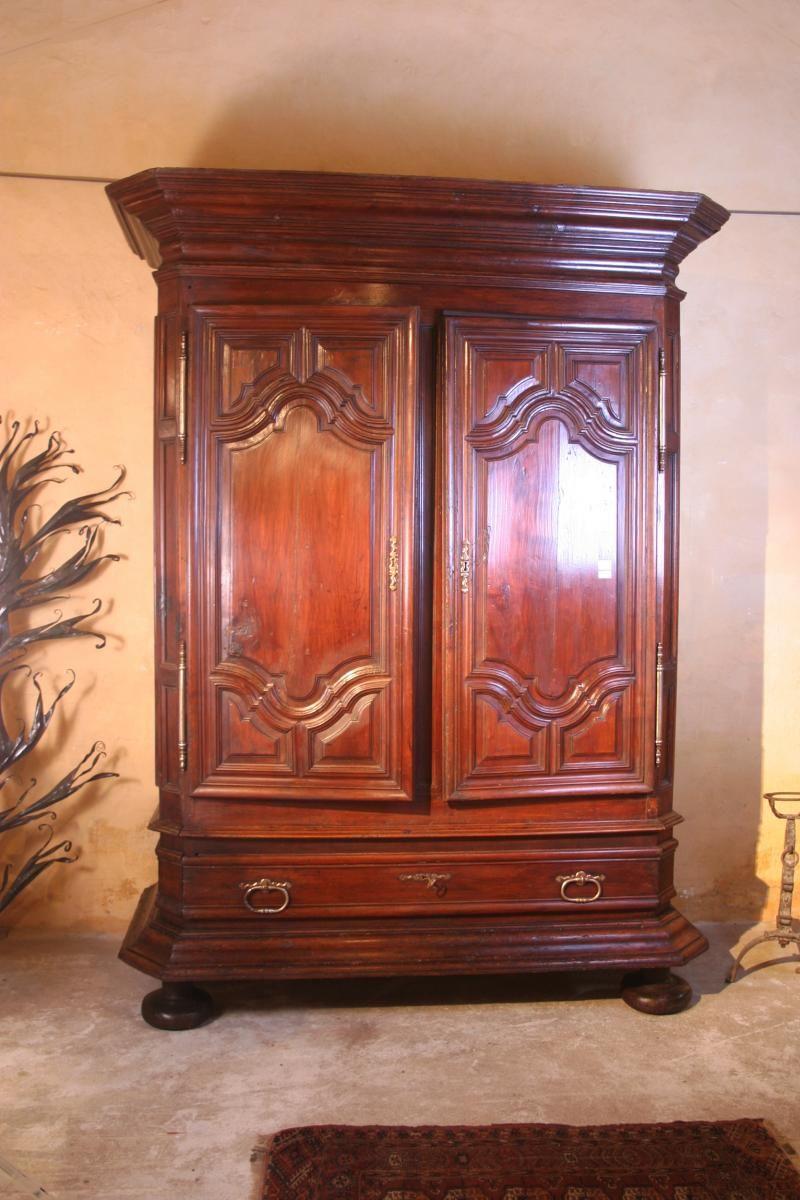 Importante Armoire Louis Xiv Samarkande Proantic Armoire Ancienne Armoire Mobilier De Salon