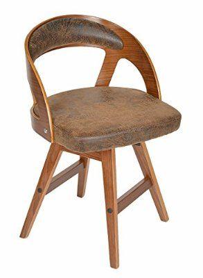 Ts Ideen 1 X Drehstuhl Retro Design Chill Lounge Bar Sessel Stuhl