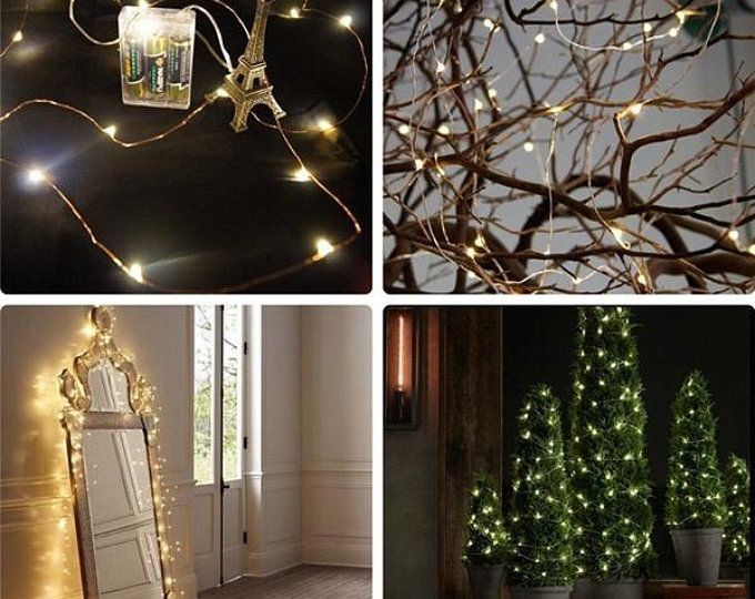 String Fairy Light Battery Operated Christmas Party Decoration
