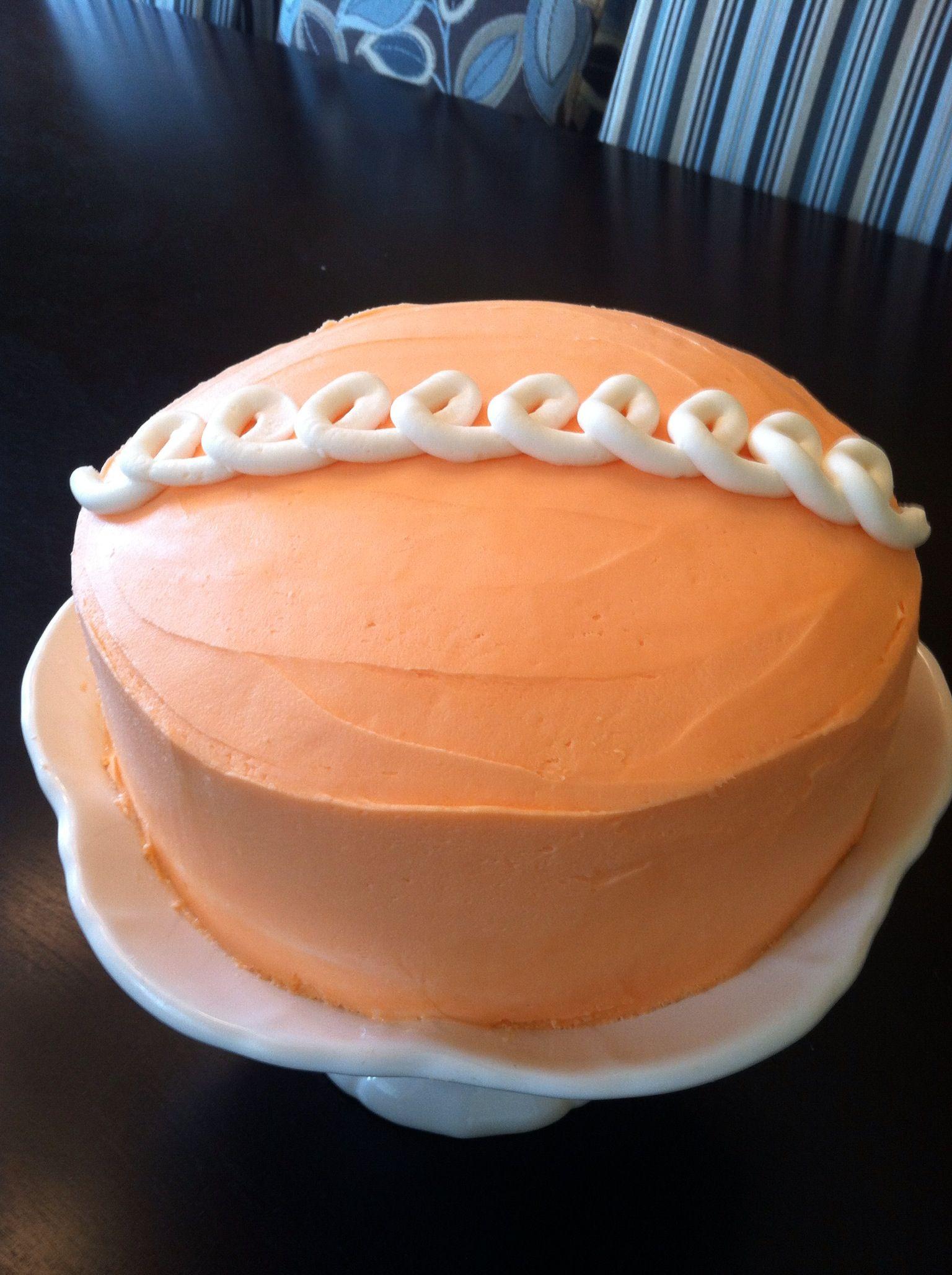 My own version of the Hostess orange cupcake