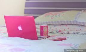pink laptop apple