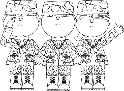 Free Veterans Day Clipart Images Black And White Clip Arts Kid Coloring Page Veterans Day Coloring Page Coloring For Kids