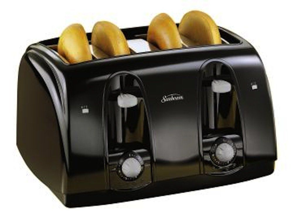 Sunbeam 3911 4 Slice Wide Slot Toaster Black This Is An Amazon