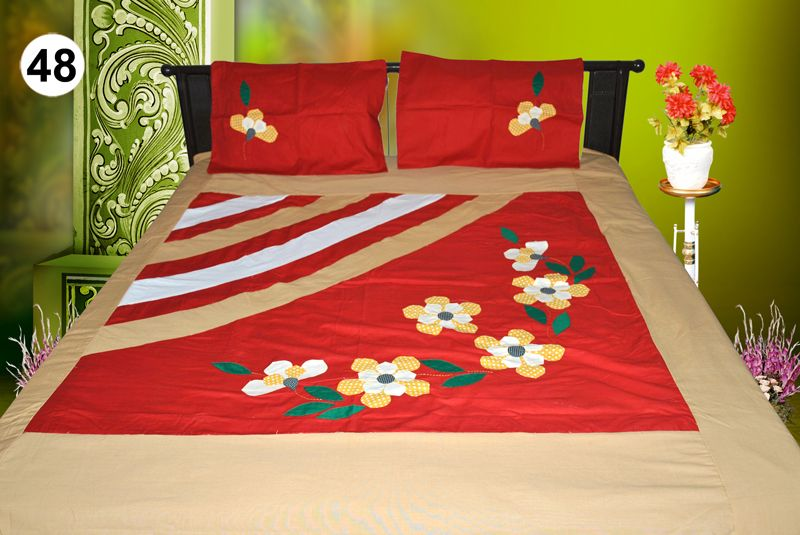 Patch Work Bedsheet India Google Search Work Bed Embroidered