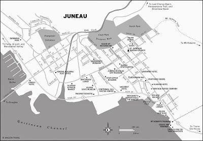 MapasBlog Mapas de Juneau Alasca alaska