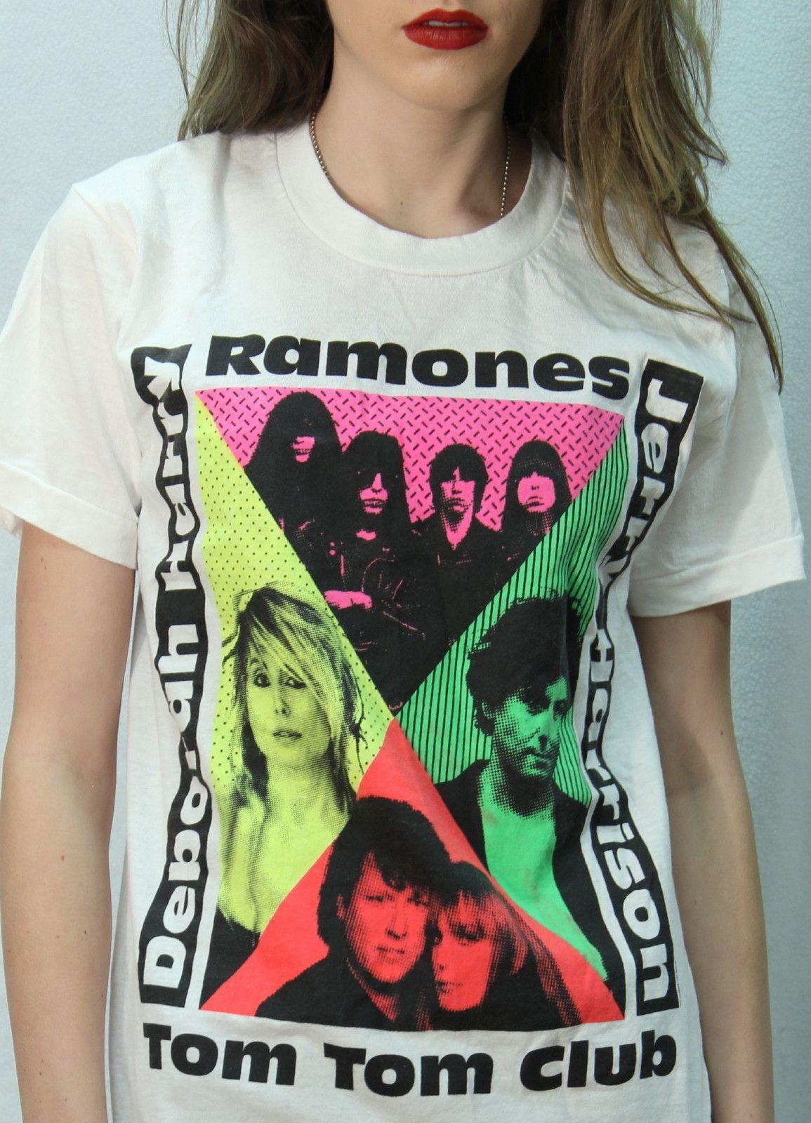 Ramones women tour t shirt