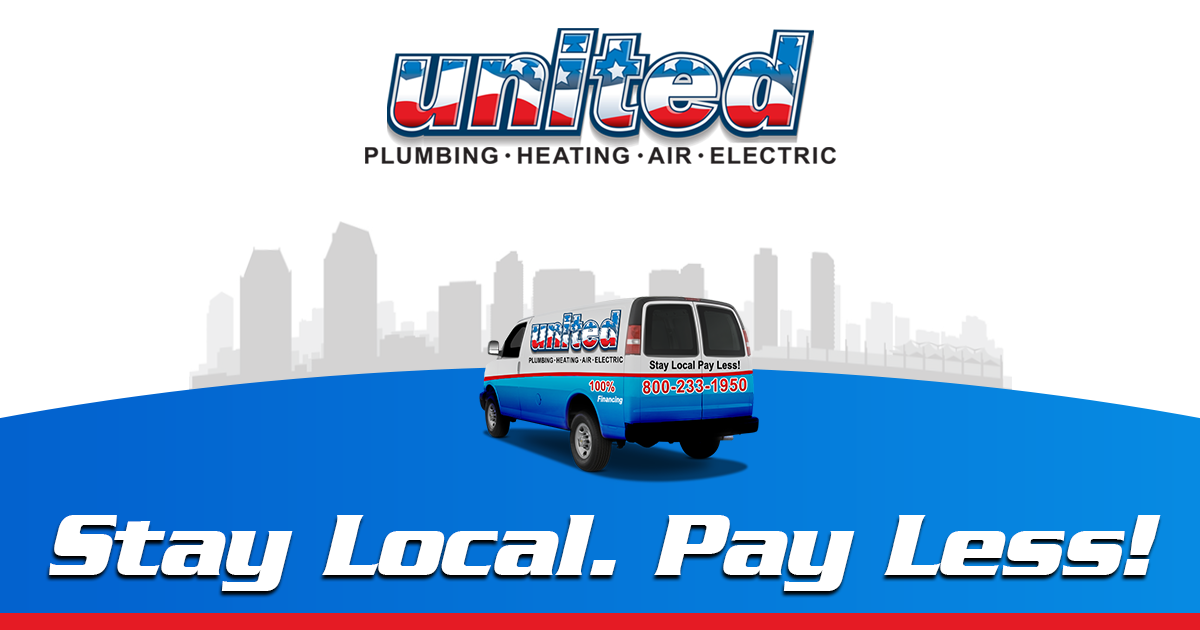 Call United Plumbing Heating Air & Electric for all your